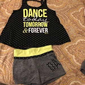Girls Justice Dance Outfit